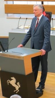Bild: LWL-Sozialdezernent Matthias Münning