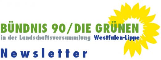 Logo Newsletter GRÜNE LWL